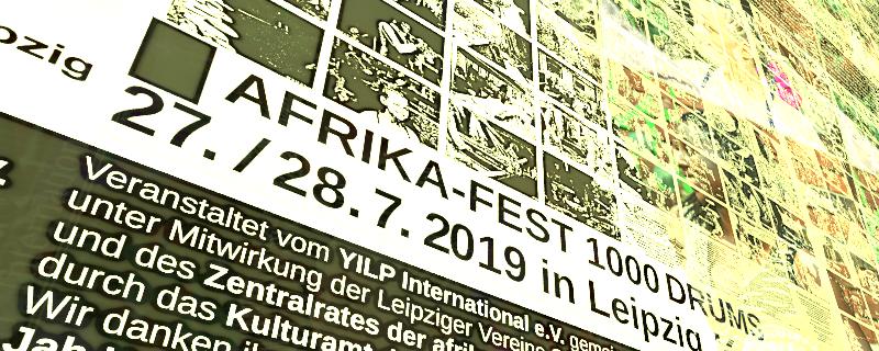 Interkulturelles Afrika-Festival »1000Drums« Leipzig